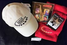 Bill Clinton Presidential Center Golf Pack - Hat, CD, Towel & Pin  - MIB