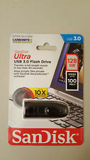 Authentic SanDisk Ultra 128GB USB 3.0 Flash Drive with Transfer Speed 100 MB/s