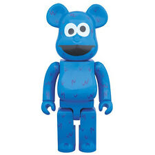 "Sesame Street: Cookie Monster 400% Bearbrick Medicom Toy 11"" Figure NEW"