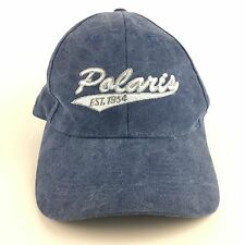 Polaris ATV RANGER RZR General Snowmobile Slingshot Blue Cap Men's Hat