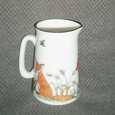 Charlotte Firmin Cosmo China Fox Milk Jug - New - Rare