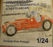 FERRARI 375 Indianapolis 1952 Ascari 1/24 FPPM resin model kit