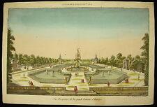 Vista perspectiva la grande fuente Aranjuez Palacio España real Estiércol de