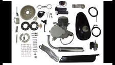 2-STROKE 80CC Bicycle Motor Engine Kit Gas For Motorized Cycle Bike Speedometer