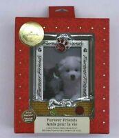 New Hallmark Furever Friends 2019 Premium Ornament Christmas Tree Pet Photo