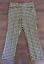 Vtg McGregor Men's LOUD Plaid+Checkered Poly Golf Geek Pants 34X28.5+1 Hem