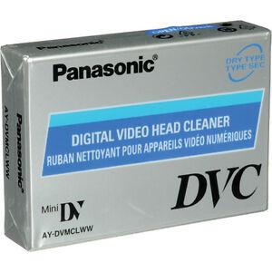 Panasonic AY-DVMCLWW Cleaning Tape for Mini DV DVC Camcorder
