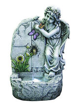 FONTANA ANGELO in resina  da giardino