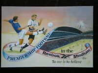 POSTCARD SPORT 1997 BOLTON FOOTBALL - PREMIERSHIP FOOTBALL IN THE REEBOK STADIUM