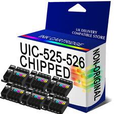 30 Chipped Ink Cartridge for MG5320 MG5350 MG6150 MG6220 MG6250 PGI525 CLI526