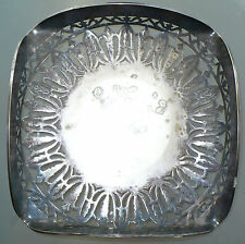 Antique Sheffield England Silverplate Platter Serving Tray Dish