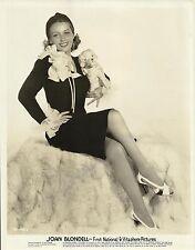 JOAN BLONDELL Original Vintage First National Photo PORTRAIT 1930's
