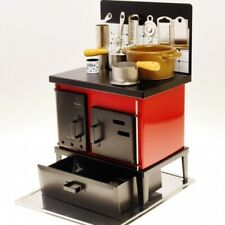 Miniature Kitchen Stove Red Real Miniature Cooking Mini Food Cookware NEW Japan