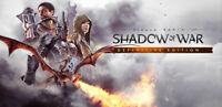 Middle Earth Shadow of War Definitive Edition | Steam | PC | Digital | Worldwide