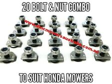 Honda Mower Bolt Sets for Blades Quality replacement bolt Kit x 20 Blade Bolts