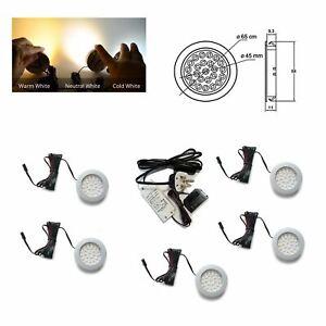 Recessed LED Light Under Furniture Cabinet Shelf Cupboard Full Kit ALVARO