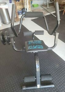 BODY BY JAKE AB & BACK PLUS W/ 2 TORSION DISKS, good working condition