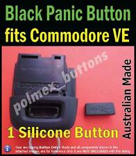 fits Holden Commodore VE Silicone repair Panic Button for remote - Black colour
