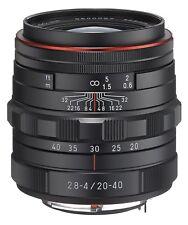 PENTAX DA HD 20-40mm F2.8-4 ED Limited DC WR Objektiv, Ricoh K-Mount Schwarz Neu