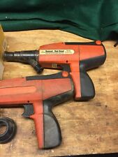 Ramset / Red Head Itw Model D60 Powder Actuated Tool Not Working