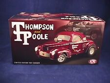 ACME 1:18 Thompson and Poole Limited Edition 1941 Gasser Diecast Car 1 of 600