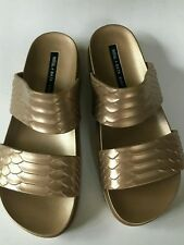 melissa shoes cosmic phyton baja east gold size 7