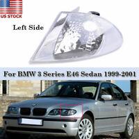 1 x Wing Mirror Glass Heated Blue Left Side for BMW E46 E39 Sedan Wagon 1997-06