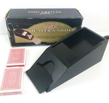 Restoration Hardware Black Wooden Casino Dealers Shoe