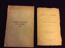 Rare yangtse Kiang Pilot by  Captain  T.H.Tizard 1ST Edition, 1914.China,Charts