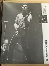 Backstreet Records Bruce Springsteen The Boss Catalog 10! Live Collection