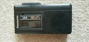 Panasonic RN-104 MicroCassette Recorder Dictaphone , used good