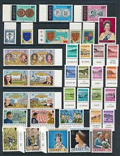 Jersey *35+ Stamps - All Mnh (1977-1982)*; Mostly W/Selvage; As Shown; Cv $25