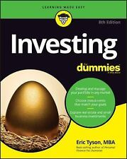 Investing for Dummies by Eric Tyson Paperback Book (English)