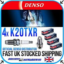 4x DENSO K20TXR NICKEL SPARK PLUGS FOR HONDA CIVIC VIII Hatchback 1.4 10.08-