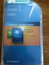 used, in box: Microsoft Windows 7 Professional Anytime Upgrade from Home Premium