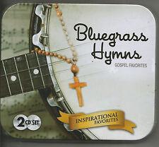 2 CDS - BLUEGRASS HYMNS - GOSPEL FAVORITES - PINE STREET STRING BAND!!  NEW!~~~~