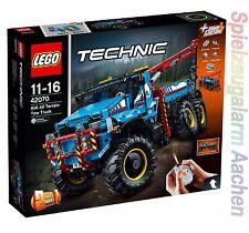 LEGO TECHNIK 42070 Allrad-Abschleppwagen La dépanneuse tout-terrain 6x6 N8/17
