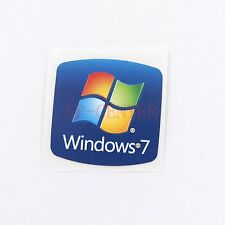 20X  Original Win 7 Sticker Logo for PC Laptop  Decal  Badge  Blue 18*18MM ST001