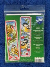 Vervaco PN - 0151005 Bookmark Bird in Winter Aida Set of 2
