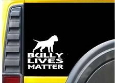 American Bully Lives Matter Sticker k187 6 inch dog decal