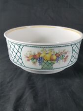 "Villeroy & Boch Basket 8 1/4"" Round Vegetable Bowl 1748  FREE SHIPPING"