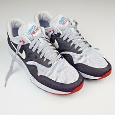 Nike Air Max 1 Breathe QS City Pack London Geyser Grey White Black Red / Size 12