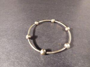 Ed Levin Vintage Sterling Silver Bangle Bracelet