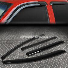 FOR 08-16 VOLVO XC70 P2 SMOKE TINT WINDOW VISOR/WIND DEFLECTOR VENT RAIN GUARD