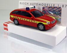 """Busch 49174 Mercedes-Benz Clase C T-modelo """"bomberos"""""""