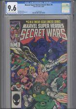 Secret Wars #6 CGC 9.6 1984 Marvel Comics Jim Shooter Story: New Frame