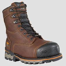 "Timberland Men PRO Boondock 8"" Soft Toe Waterproof Work Boots Size 7 New"