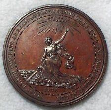1876 US Centennial Bronze Medal HK-21 Julian CM-10b RARE R.3 RED BROWN AU Token