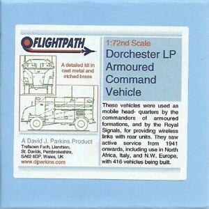 Flightpath UK 20mm (1/72) AEC Dorchester Armoured Command Vehicle