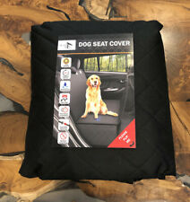 Active Pets Back Seat Cover Protector for Dogs - Black